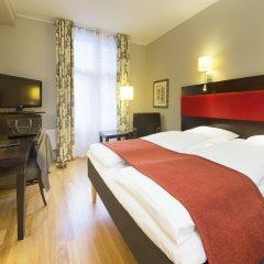 Отель Scandic Holberg 3* Стандартный номер с двуспальной кроватью