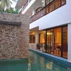 Patong Lodge Hotel открытый бассейн