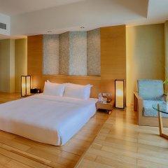 Отель Swiss Grand Xiamen 4* Люкс с различными типами кроватей