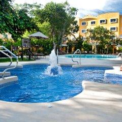 Отель Courtyard By Marriott Cancun Airport открытый бассейн фото 4