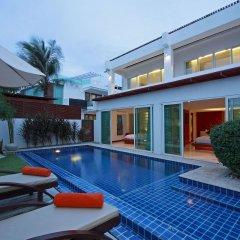 Отель La Flora Resort Patong 5* Вилла разные типы кроватей фото 7