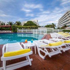 Отель Park Royal Cancun - Все включено Мексика, Канкун - отзывы, цены и фото номеров - забронировать отель Park Royal Cancun - Все включено онлайн открытый бассейн фото 4