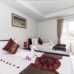 Отель Silver Resortel Номер Делюкс с различными типами кроватей