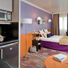 Отель Aparthotel Adagio la Defense le Parc 4* Студия с различными типами кроватей