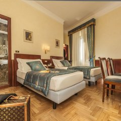 Отель Nord Nuova Roma 3* Стандартный номер с различными типами кроватей фото 14