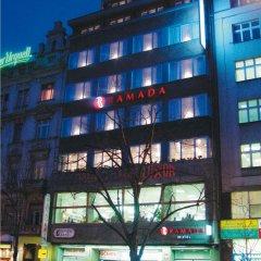 Отель Ramada by Wyndham Prague City Centre вид на фасад фото 2
