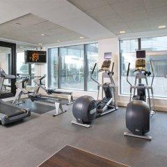 Отель Hilton Paris Charles De Gaulle Airport фитнесс-зал