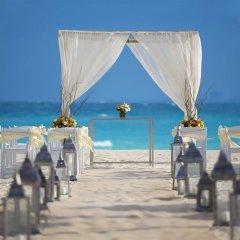Отель Reflect Krystal Grand Cancun открытая свадебная площадка фото 2