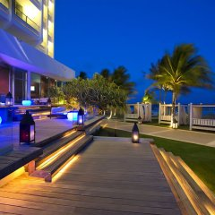 Отель Reflect Krystal Grand Cancun терраса/патио фото 2
