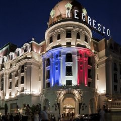 Hotel Le Negresco вид на фасад фото 2