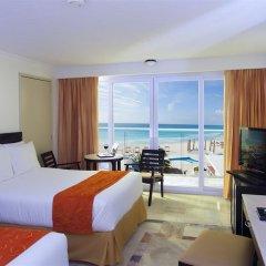 Отель Krystal Cancun Мексика, Канкун - 2 отзыва об отеле, цены и фото номеров - забронировать отель Krystal Cancun онлайн комната для гостей фото 11