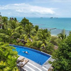 Отель InterContinental Samui Baan Taling Ngam Resort открытый бассейн