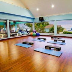 Отель Sunset Beach Resort Spa and Waterpark All Inclusive Ямайка, Монтего-Бей - отзывы, цены и фото номеров - забронировать отель Sunset Beach Resort Spa and Waterpark All Inclusive онлайн фитнесс-зал