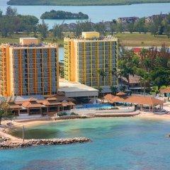 Отель Sunset Beach Resort Spa and Waterpark All Inclusive Ямайка, Монтего-Бей - отзывы, цены и фото номеров - забронировать отель Sunset Beach Resort Spa and Waterpark All Inclusive онлайн приотельная территория