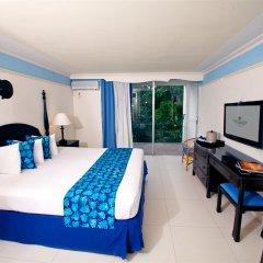 Отель Sunset Beach Resort Spa and Waterpark All Inclusive Ямайка, Монтего-Бей - отзывы, цены и фото номеров - забронировать отель Sunset Beach Resort Spa and Waterpark All Inclusive онлайн комната для гостей фото 5