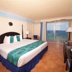 Отель Sunset Beach Resort Spa and Waterpark All Inclusive Ямайка, Монтего-Бей - отзывы, цены и фото номеров - забронировать отель Sunset Beach Resort Spa and Waterpark All Inclusive онлайн комната для гостей фото 2