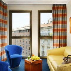 Отель Le Méridien Visconti Rome комната для гостей фото 3