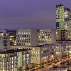 Rilano 24I7 Hotel München вид на город