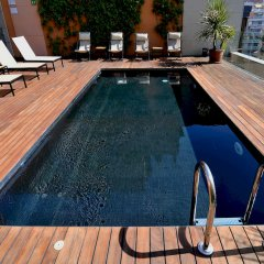 Отель Europark открытый бассейн