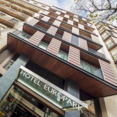 Отель Europark вид на фасад