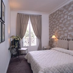 Отель Hôtel Le Grimaldi by Happyculture Франция, Ницца - 6 отзывов об отеле, цены и фото номеров - забронировать отель Hôtel Le Grimaldi by Happyculture онлайн комната для гостей фото 5
