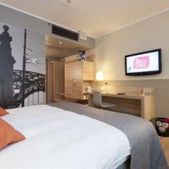 Отель Scandic Wroclaw 4* Улучшенный номер с различными типами кроватей фото 2