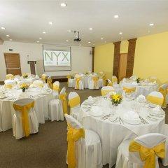 Отель Nyx Cancun All Inclusive Мексика, Канкун - 2 отзыва об отеле, цены и фото номеров - забронировать отель Nyx Cancun All Inclusive онлайн банкетный зал фото 2