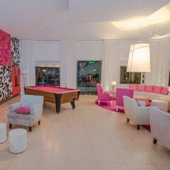 Отель Nyx Cancun All Inclusive Мексика, Канкун - 2 отзыва об отеле, цены и фото номеров - забронировать отель Nyx Cancun All Inclusive онлайн лобби лаундж фото 2