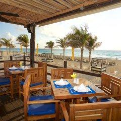 Отель Nyx Cancun All Inclusive Мексика, Канкун - 2 отзыва об отеле, цены и фото номеров - забронировать отель Nyx Cancun All Inclusive онлайн столовая на открытом воздухе