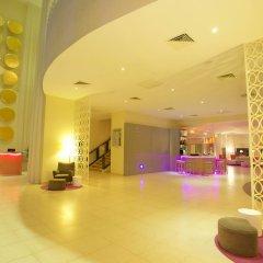 Отель Nyx Cancun All Inclusive Мексика, Канкун - 2 отзыва об отеле, цены и фото номеров - забронировать отель Nyx Cancun All Inclusive онлайн лобби лаундж