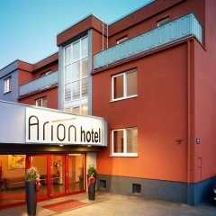 Arion Hotel Vienna Airport вид на фасад