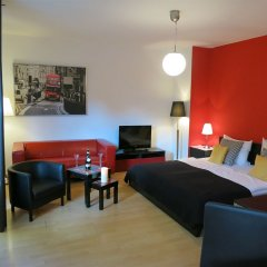 Отель Amary City Residence Берлин комната для гостей
