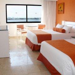 Отель Flamingo Cancun Resort Мексика, Канкун - отзывы, цены и фото номеров - забронировать отель Flamingo Cancun Resort онлайн комната для гостей фото 8