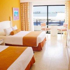 Отель Flamingo Cancun Resort Мексика, Канкун - отзывы, цены и фото номеров - забронировать отель Flamingo Cancun Resort онлайн комната для гостей фото 5