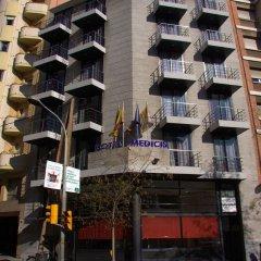 Отель Medicis Испания, Барселона - 8 отзывов об отеле, цены и фото номеров - забронировать отель Medicis онлайн вид на фасад фото 2