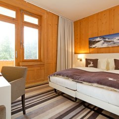 Отель National Швейцария, Давос - отзывы, цены и фото номеров - забронировать отель National онлайн комната для гостей фото 5