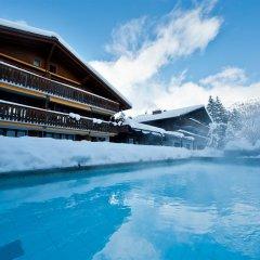 Отель Alpine Lodge Швейцария, Гштад - отзывы, цены и фото номеров - забронировать отель Alpine Lodge онлайн бассейн фото 3