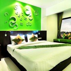 The BluEco Hotel комната для гостей