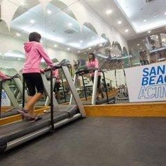 Отель Sands Beach Resort фитнесс-зал фото 4