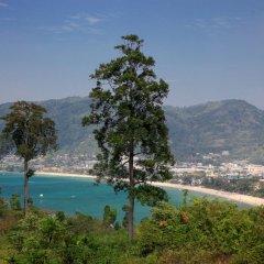 Отель Baan Yin Dee Boutique Resort вид на пляж/океан