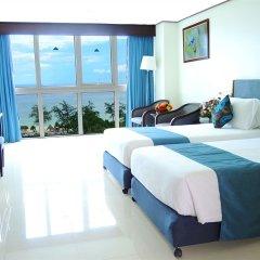 Andaman Beach Suites Hotel 4* Улучшенный номер разные типы кроватей фото 5