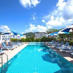 Andaman Beach Suites Hotel открытый бассейн