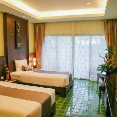 Отель Duangjitt Resort, Phuket 5* Улучшенный номер с различными типами кроватей