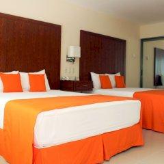 Отель Terracaribe Hotel Мексика, Канкун - отзывы, цены и фото номеров - забронировать отель Terracaribe Hotel онлайн комната для гостей фото 5