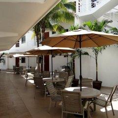 Отель Terracaribe Hotel Мексика, Канкун - отзывы, цены и фото номеров - забронировать отель Terracaribe Hotel онлайн столовая на открытом воздухе