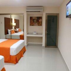 Отель Terracaribe Hotel Мексика, Канкун - отзывы, цены и фото номеров - забронировать отель Terracaribe Hotel онлайн комната для гостей фото 6