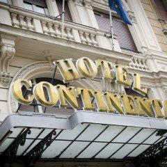Hotel Continental Genova вход в здание