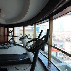 Отель SALVO Шанхай фитнесс-зал
