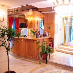 Hotel Luxembourg Parc ресепшен