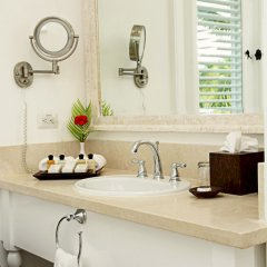 Отель Tortuga Bay Hotel Пунта Кана раковина ванной комнаты
